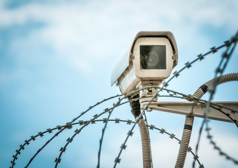 Video surveillance correctional facilities