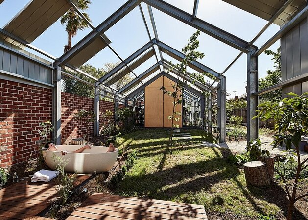 Inside-out home extension