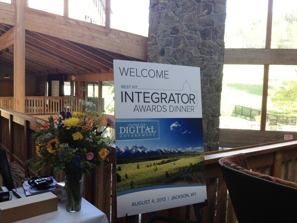 2013 Best Fit Integrator awards at the Center for Digital Government's seventh annual Industry Summit.