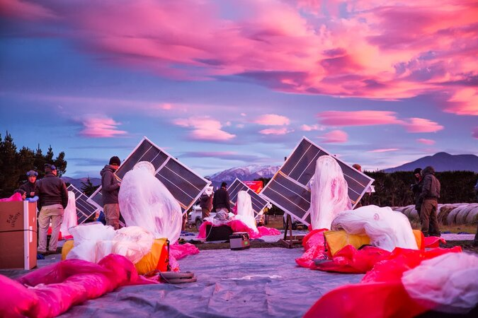 Google's Project Loon preparation