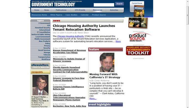 Govtech.net in December 2004