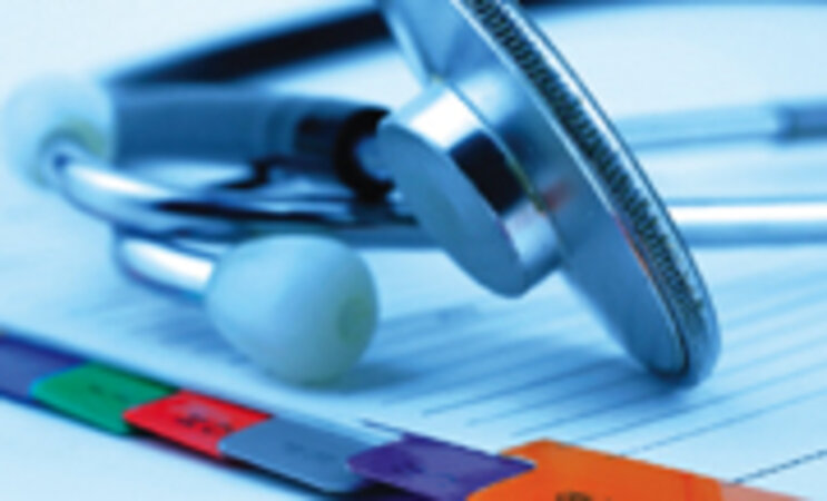 International Classification of Diseases 10/stethoscope on medical file/photo copyright by iStockphoto