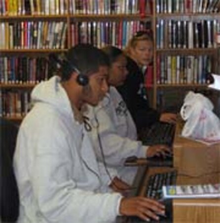 Liibrary Computer Users