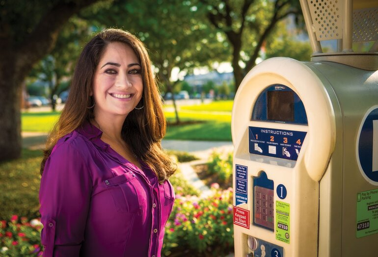 Maria Irshad, deputy assistant director, Houston Parking Management Division