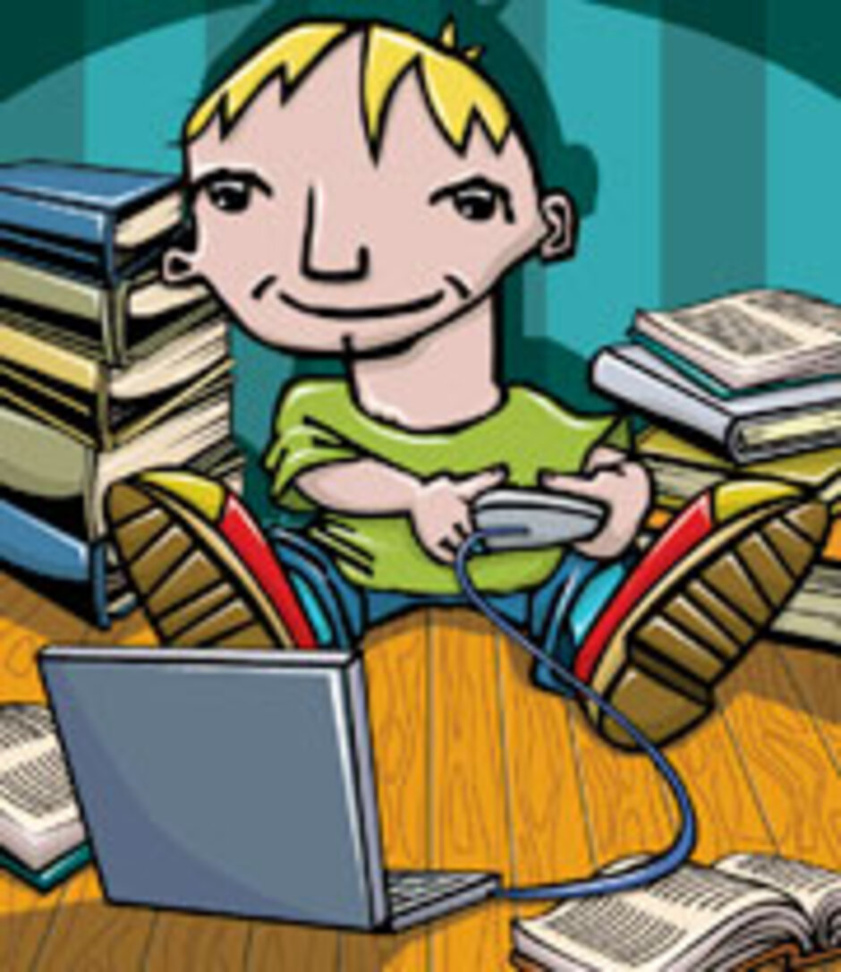 Distractions online and student homework