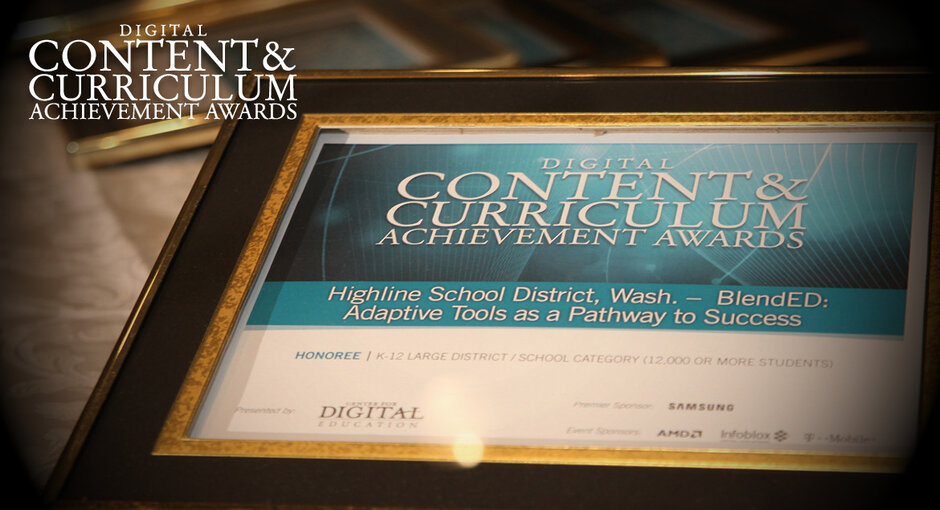 K 12 Schools Recognized With 2017 Digital Content And Curriculum