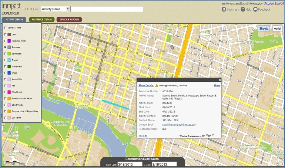 Austin IMMPACT Helps Visualize Prioritize City Projects – City Of Austin Site Plan Application