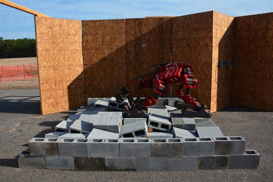 Darpa Competition Aims To Improve Quality Of Rescue Robots