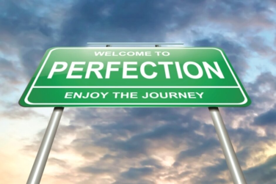 recognizing the importance of the journey to perfection