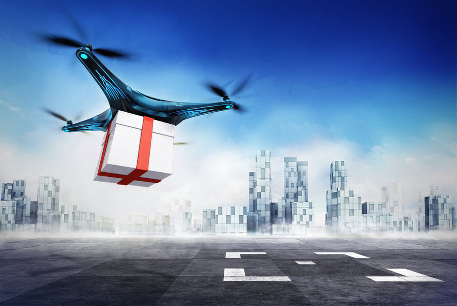 Delivery Drones Take Step Forward A federal advisory panel has agreed on a framework to track and identify commercial UAVs.