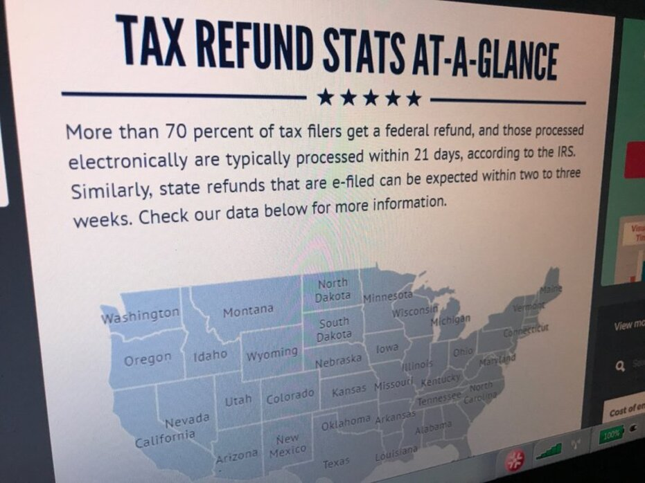 where's my refund? taking a look at state, federal government tax