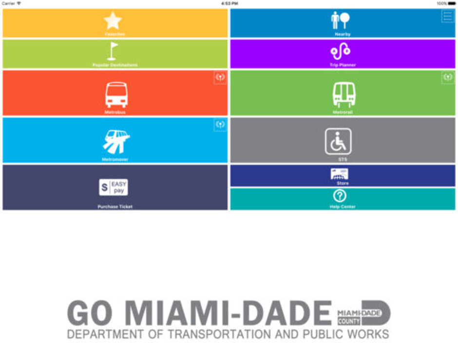 new app makes miami dade transit quick and simple promotes mobility