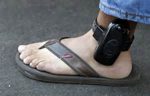 Gps Ankle Bracelet Monitoring Of Low