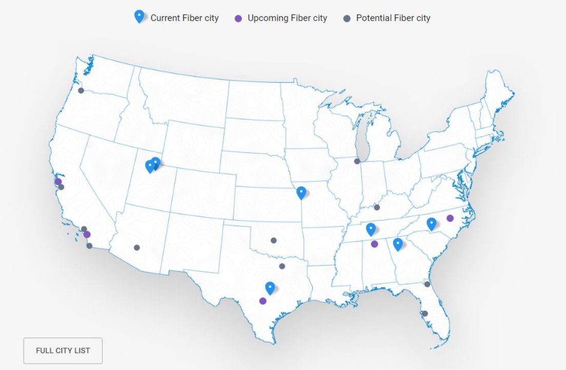 Google Fiber Officially Launches In Salt Lake City