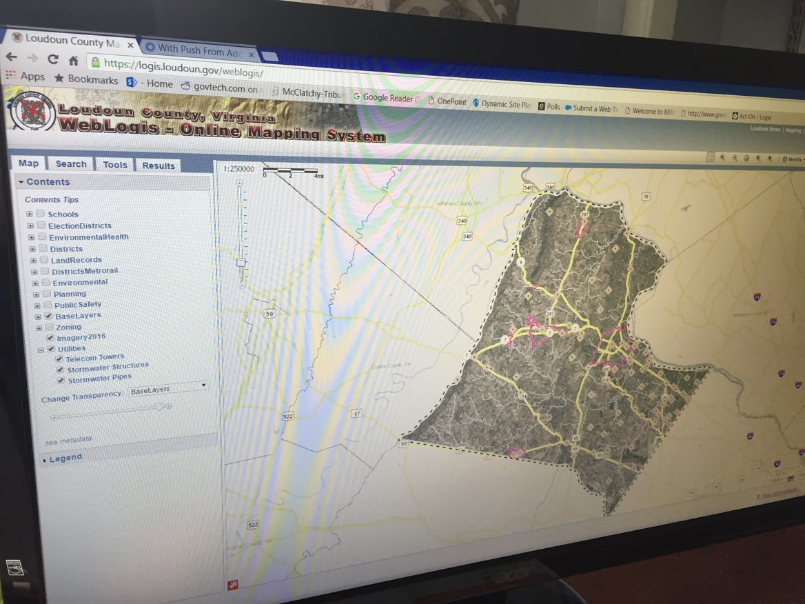 Gis Technology Has A Limitless Future For Local Governments Computer Monitor Wiring Diagram