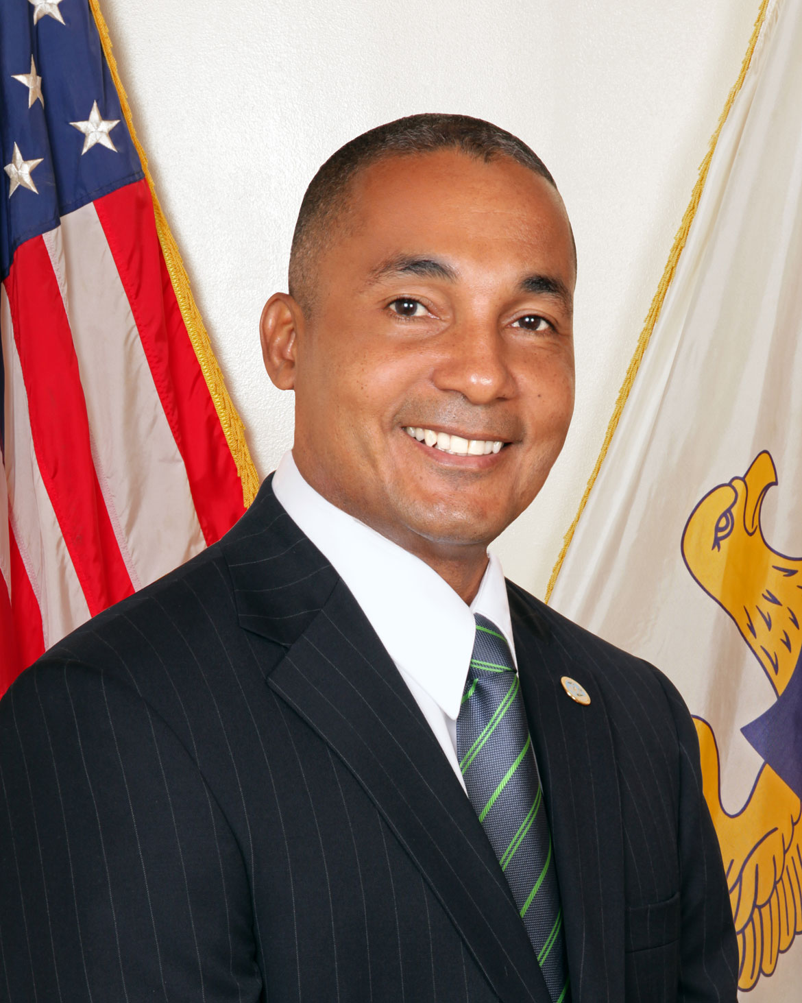 Louis Patrick Hill, vice president of the Senate, U.S. Virgin Islands
