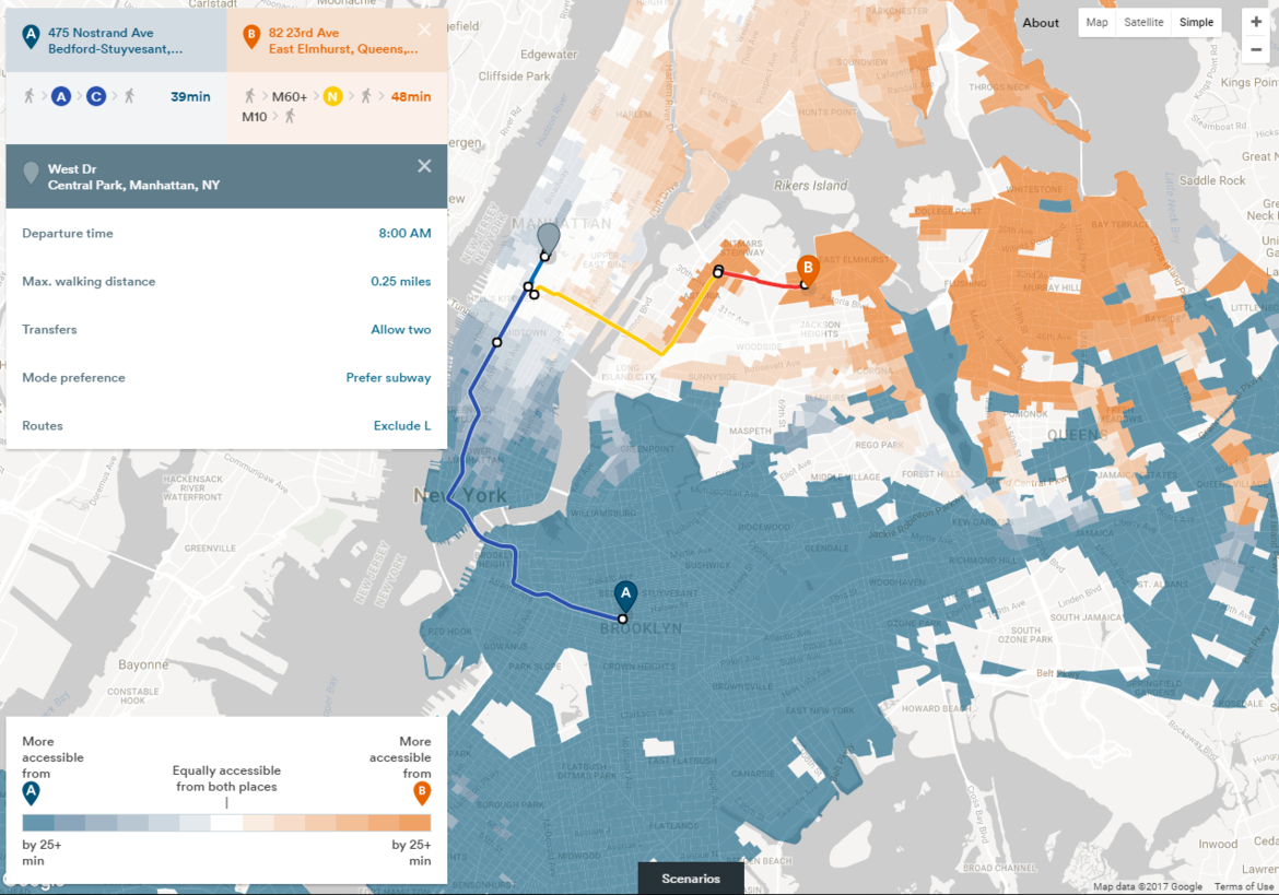 mapping tool helps new york city prepare for upcoming l line closure