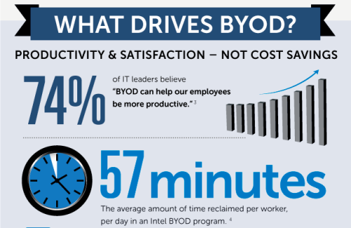 BYOD By the Numbers (Infographic)