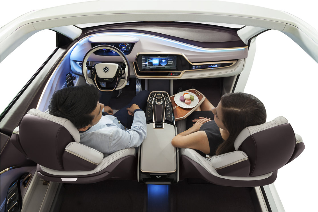 What will the driverless car 39 s interior look like - Car interior design ...