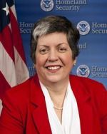 U.S. Department of Homeland Security Secretary Janet Napolitano 