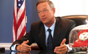 Martin O'Malley, Governor, Maryland/Photo by GTtv