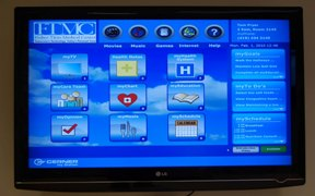 Smart Room MyStation Screen/Photo courtesy of Cerner
