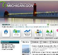 Michigan.gov portal/screen shot