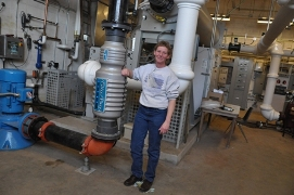 Oregon Institute of Technology Power Plant, Toni Boyd, assistant director of the OIT Geo-Heat Center/Photo courtesy of Oregon Institute of Technology