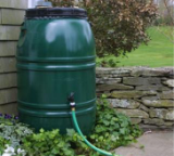 rain barrel, Ankeny, Iowa