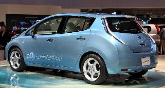 Nissan Leaf/Photo courtesy of Nissan