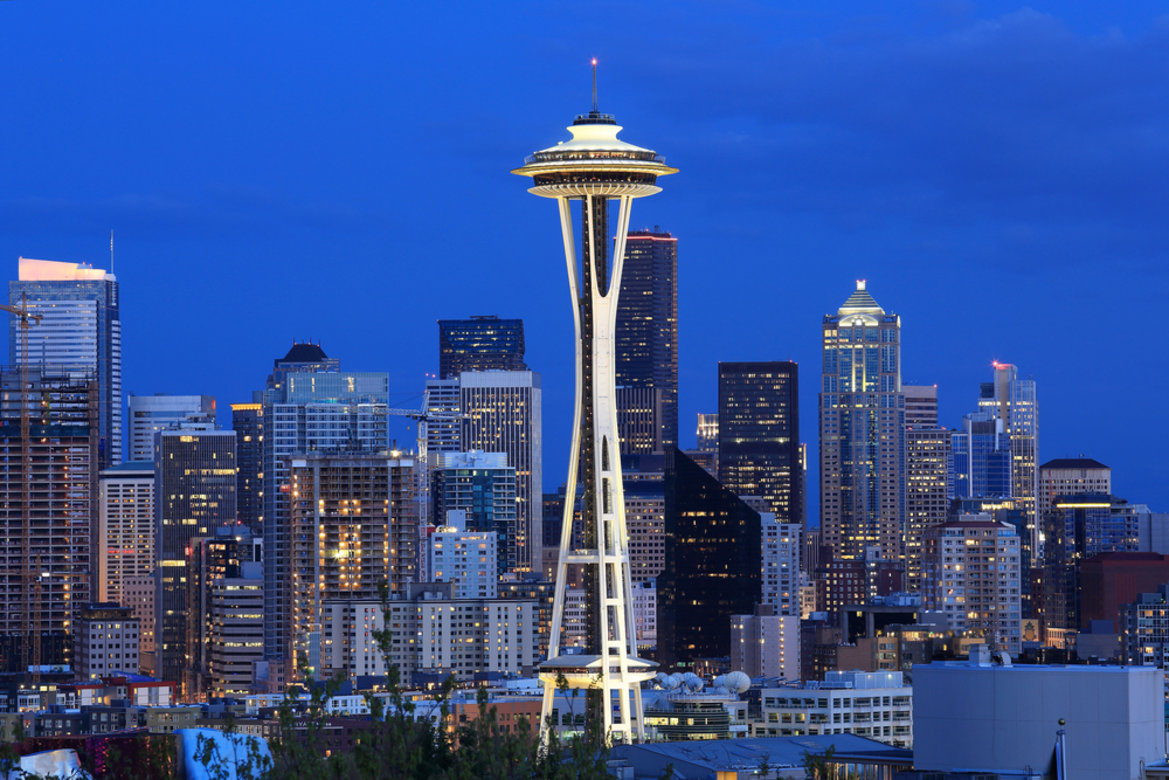 What City Is The Famous Space Needle Building In